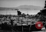 Image of Japanese barge Okinawa Ryukyu Islands, 1945, second 10 stock footage video 65675053475