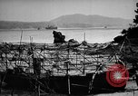 Image of Japanese barge Okinawa Ryukyu Islands, 1945, second 12 stock footage video 65675053475