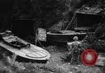 Image of Japanese suicide boat Okinawa Ryukyu Islands, 1945, second 4 stock footage video 65675053480