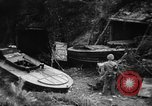 Image of Japanese suicide boat Okinawa Ryukyu Islands, 1945, second 5 stock footage video 65675053480