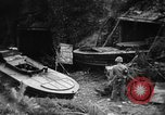 Image of Japanese suicide boat Okinawa Ryukyu Islands, 1945, second 10 stock footage video 65675053480