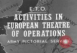 Image of United States Army European Theater, 1944, second 2 stock footage video 65675053492