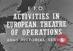 Image of United States Army European Theater, 1944, second 7 stock footage video 65675053492