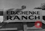 Image of ranch Texas United States USA, 1945, second 1 stock footage video 65675053501