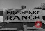 Image of texas ranch lifestyle mid 1940s Kerrville Texas USA, 1945, second 2 stock footage video 65675053501