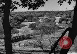 Image of texas ranch lifestyle mid 1940s Kerrville Texas USA, 1945, second 10 stock footage video 65675053501