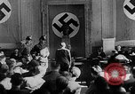 Image of Trial of conspirators in July 20th Plot to kill Adolf Hitler Germany, 1944, second 5 stock footage video 65675053503