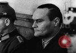 Image of Josef Wirmer on trial in July 20 plot against Hitler Germany, 1944, second 8 stock footage video 65675053508