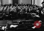 Image of Josef Wirmer on trial in July 20 plot against Hitler Germany, 1944, second 9 stock footage video 65675053508