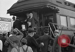 Image of President Roosevelt arriving at the Little White House Georgia United States USA, 1935, second 5 stock footage video 65675053527