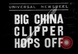 Image of China Clipper Alameda California USA, 1935, second 1 stock footage video 65675053529