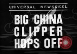 Image of China Clipper Alameda California USA, 1935, second 5 stock footage video 65675053529