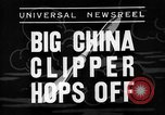 Image of China Clipper Alameda California USA, 1935, second 7 stock footage video 65675053529