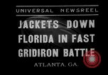 Image of football match Atlanta Georgia USA, 1935, second 3 stock footage video 65675053533