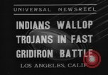 Image of football match Los Angeles California USA, 1935, second 4 stock footage video 65675053534