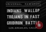 Image of football match Los Angeles California USA, 1935, second 5 stock footage video 65675053534