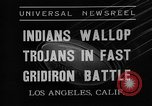 Image of football match Los Angeles California USA, 1935, second 6 stock footage video 65675053534