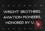 Image of Orville Wright Washington DC USA, 1943, second 3 stock footage video 65675053536