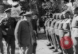 Image of Winston Churchill Tehran Iran, 1943, second 8 stock footage video 65675053539
