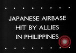 Image of Allied aircraft Puerto Princesa Island Philippines, 1945, second 3 stock footage video 65675053543