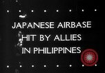 Image of Allied aircraft Puerto Princesa Island Philippines, 1945, second 4 stock footage video 65675053543