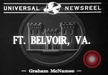 Image of Fifth Regiment Fort Belvoir Virginia USA, 1941, second 2 stock footage video 65675053548