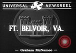 Image of Fifth Regiment Fort Belvoir Virginia USA, 1941, second 3 stock footage video 65675053548