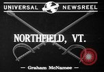 Image of Norwich University Northfield Vermont USA, 1941, second 3 stock footage video 65675053549