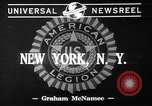Image of Legion Mission New York City USA, 1941, second 2 stock footage video 65675053552
