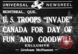 Image of United States troops Canada, 1941, second 1 stock footage video 65675053572