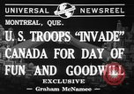 Image of United States troops Canada, 1941, second 4 stock footage video 65675053572