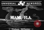 Image of water skiing Miami Florida USA, 1942, second 3 stock footage video 65675053585