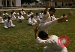 Image of karate class South Vietnam, 1967, second 8 stock footage video 65675053591