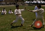 Image of karate class South Vietnam, 1967, second 12 stock footage video 65675053591