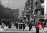 Image of Arc de Triomphe Paris France, 1939, second 4 stock footage video 65675053613
