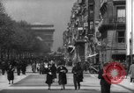 Image of Arc de Triomphe Paris France, 1939, second 6 stock footage video 65675053613