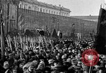 Image of Red Army soldiers headed toward Poland Moscow Russia Soviet Union, 1919, second 4 stock footage video 65675053618
