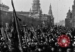 Image of Red Army soldiers headed toward Poland Moscow Russia Soviet Union, 1919, second 9 stock footage video 65675053618