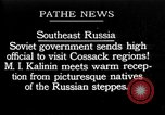 Image of Mikhail Ivanovich Kalinin Russia, 1925, second 1 stock footage video 65675053620