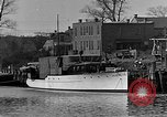 Image of Curtis Boat & Engine Corp on riverfront Norfolk Virginia United States USA, 1932, second 3 stock footage video 65675053626