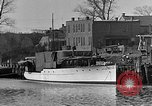 Image of Curtis Boat & Engine Corp on riverfront Norfolk Virginia United States USA, 1932, second 4 stock footage video 65675053626