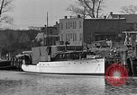 Image of Curtis Boat & Engine Corp on riverfront Norfolk Virginia United States USA, 1932, second 5 stock footage video 65675053626