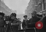 Image of snow covered roads Moscow Russia Soviet Union, 1920, second 1 stock footage video 65675053629