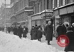 Image of snow covered roads Moscow Russia Soviet Union, 1920, second 7 stock footage video 65675053629