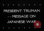 Image of President Harry Truman United States USA, 1945, second 1 stock footage video 65675053645
