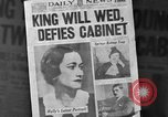 Image of abdication of King Edward VIII London England United Kingdom, 1936, second 10 stock footage video 65675053647