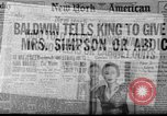 Image of abdication of King Edward VIII London England United Kingdom, 1936, second 11 stock footage video 65675053647