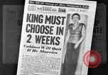 Image of abdication of King Edward VIII London England United Kingdom, 1936, second 12 stock footage video 65675053647