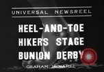 Image of Bunion Derby New York City USA, 1936, second 1 stock footage video 65675053651