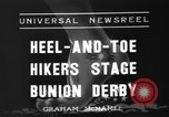 Image of Bunion Derby New York City USA, 1936, second 3 stock footage video 65675053651